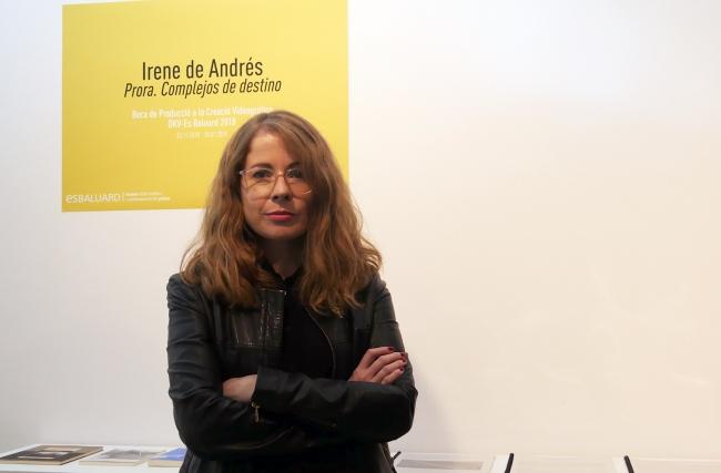 Irene de Andrés. Cortesía de Es Baluard | Irene de Andrés: última ganadora de la Beca de Producción a la Creación Videográfica DKV-Es Baluard