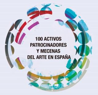 """Portada del Informe sobre """"100 Activos Patrocinadores y Mecenas del Arte en España"""""""