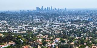 Vista de Los Ángeles. Cortesía de Frieze