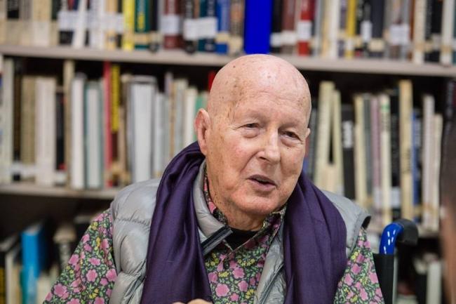 Juan Hidalgo. Foto extraída del Facebook del CAAM.   Muere Juan Hidalgo, pionero del arte experimental español