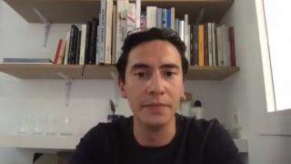 Pantallazo de la entrevista a Javier Aparicio