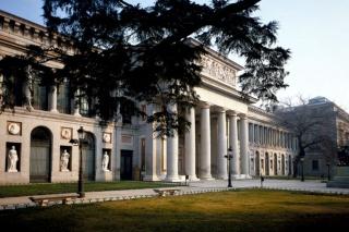 Vista del Museo Nacional del Prado. Cortesía del Ministerio de Cultura y Deporte.