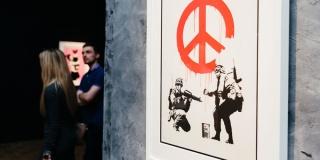 Cortesía de Banksy Exhibition