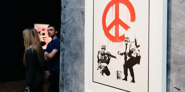 Cortesía de Banksy Exhibition | 15 exposiciones en España: nombres internacionales para cerrar el año