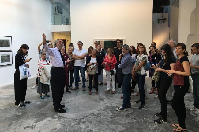 Presentación Barcelona Gallery Weekend   #loquehayquever en España: Las galerías de Barcelona y Valencia dan el pistoletazo de salida a la nueva temporada