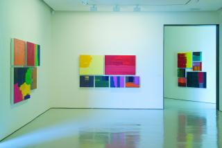 """Imagen de la exposición """"Lugares de Pintura"""" de Pedro Calapez en el CAB de Burgos, 2005 - Cortesía de Pedro Calapez"""
