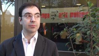 Chema de Francisco, director de ESTAMPA. Fotograma vídeo. Cortesía de ESTAMPA