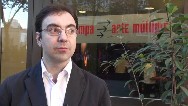 Chema de Francisco, director de ESTAMPA. Fotograma vídeo. Cortesía de ESTAMPA | La feria madrileña ESTAMPA se alía con IFEMA para seguir creciendo