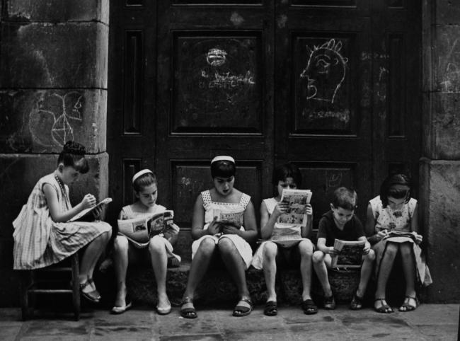 Obra de Eugeni Forcano en Blanca Berlin | Fallece Eugeni Forcano, el fotógrafo autodidacta que atrapaba la vida