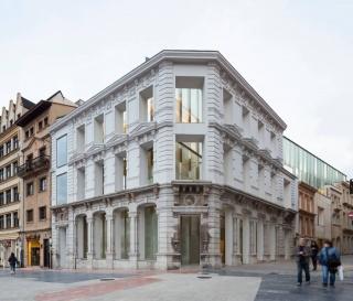 Imagen de la ampliación del Museo de Bellas Artes de Oviedo