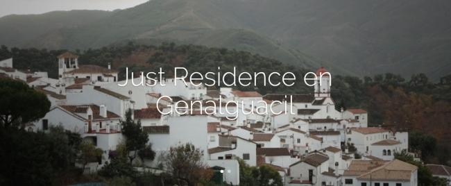 Pantallazo de la web de JustMad | Los 4 jóvenes artistas seleccionados por Asier Mendizabal para JustResidence