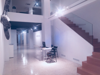 Vista de la nueva galería de Freijo, diseñada por Juan Cuenca - Cortesía de la galería