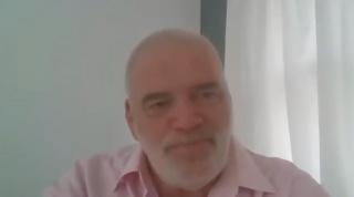 Pantallazo de la conversación con Pablo Atchugarry