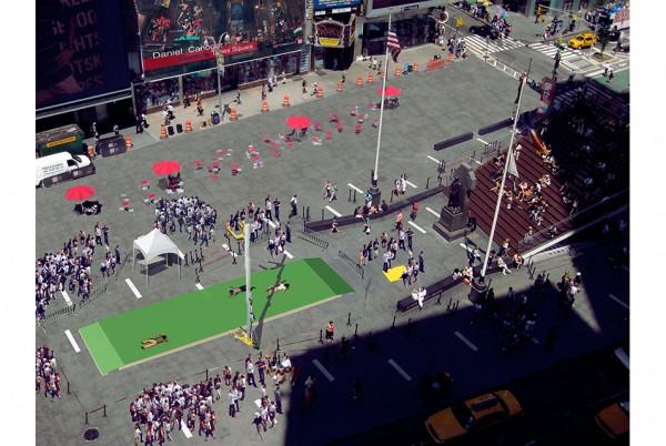 Storming Times Square | Daniel Canogar asalta la plaza neoyorquina de Times Square