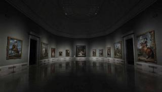 Sala de las Meninas del Museo del Prado. Cortesía de RTVE
