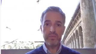 Pantallazo de la entrevista con José Luis Pérez Pont