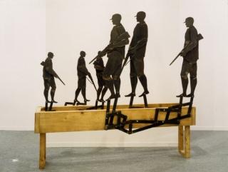 Hunter, 1988, de Juan Muñoz - Colección Fundación ARCO