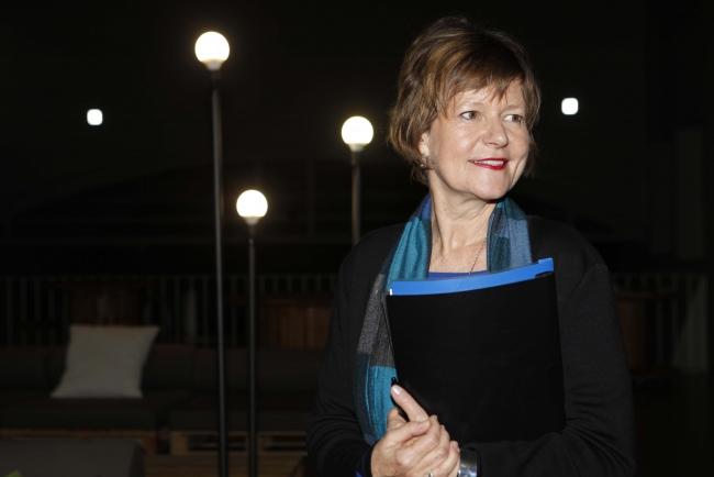 """Karin Ohlenschläger. Cortesía de LABoral Centro de Arte y Creación Industrial   Karin Ohlenschläger, directora de LABoral: """"Desearía que la administración reconociese y se abriese más a las dinámicas transversales que el arte plantea"""""""