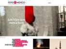Pantallazo web de Foto México 2015