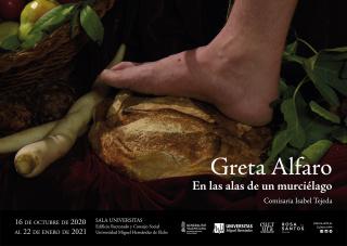 Cartel de la exposición. Cortesía del Vicerrectorado de Cultura de la Universidad Miguel Hernández de Elche