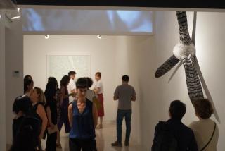 """Rocío Garriga, en su exposición """"La ley del Espejo"""" - Cortesía Freijo Gallery"""