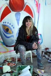 Ana Barriga, una de las artistas premiadas. Cortesía de Ana Barriga
