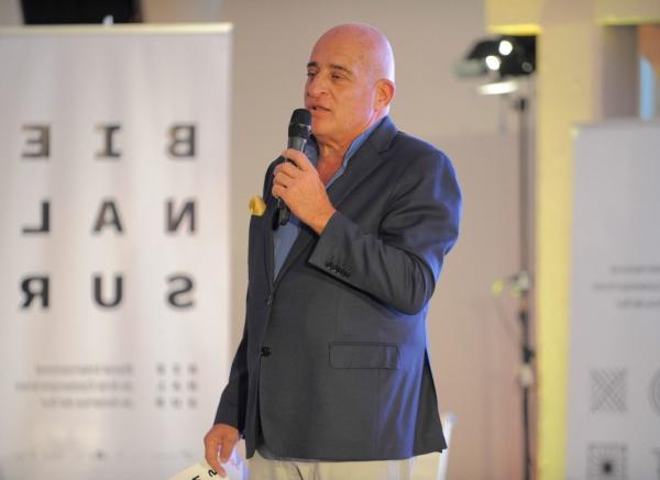 Aníbal Jozami. Foto cortesía de Bienalsur.org. | BIENALSUR presentará 71 artistas y curadores en la ciudad de Buenos Aires