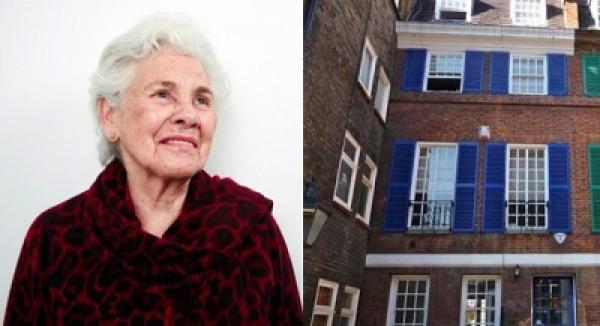 Delfina Entrecanales y la fachada de su Fundación | Coleccionistas y artistas convivirán en residencias de la Delfina Foundation