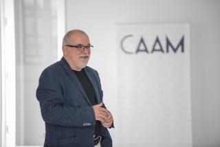 El director artístico del Centro Atlántico de Arte Moderno (CAAM), Orlando Britto Jinorio. Cortesía del CAAM