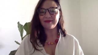 Pantallazo de la entrevista a Agustina Ferreyra
