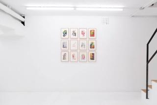 Vista de la última exposición de Addaya Palma