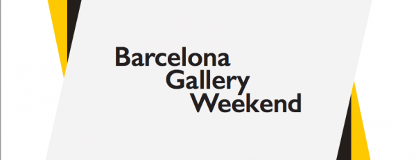 Cartel de Barcelona Gallery Weekend | Art Barcelona busca activar el mercado del arte con 'Barcelona Gallery Weekend 2015'