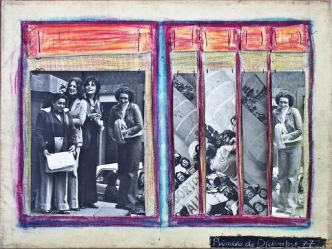 Obra de Mónica Mayer. Cortesía de Walden   Patrick Hamilton, Ana Pérez-Quiroga y otros diez artistas iberoamericanos suman galerías