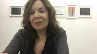 Pantallazo de la entrevista con Elba Benítez