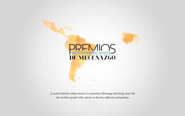 Logotipo. Cortesía de Callia. Transcend through Art | Patricia Phelps de Cisneros y Carlos Fitz-James Stuart, Premios Iberoamericanos de Mecenazgo 2017