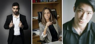 De izq. a dcha, Belin, Ana Pomar y Massaki Hasegawa - Fotos cortesía de los fotografiados