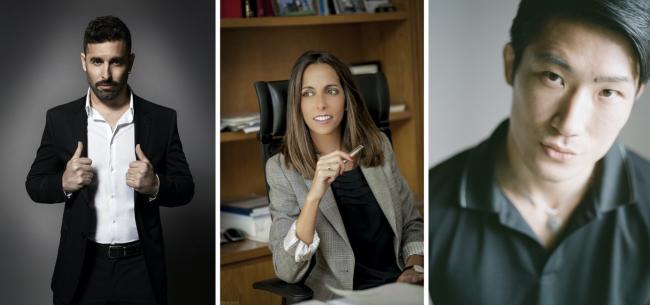 De izq. a dcha, Belin, Ana Pomar y Massaki Hasegawa - Fotos cortesía de los fotografiados | #EscenaLOCAL: 2 artistas sugeridos por la consultora Ana Pomar