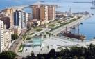 Vista de la Zona de El Cubo en el Puerto de Málaga