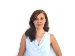 Andrea Giunta. Foto: archivo personal. Cortesía de la Fundación Bienal del Mercosur
