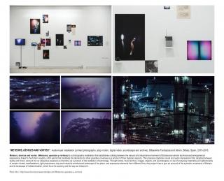 """""""Meteors, devices, and vortex (Meteoros, aparatos y vórtices)"""", 2015, de Francisco Navarrete Sitja"""