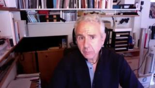 Captura de pantalla de la entrevista con Isidro López-Aparicio