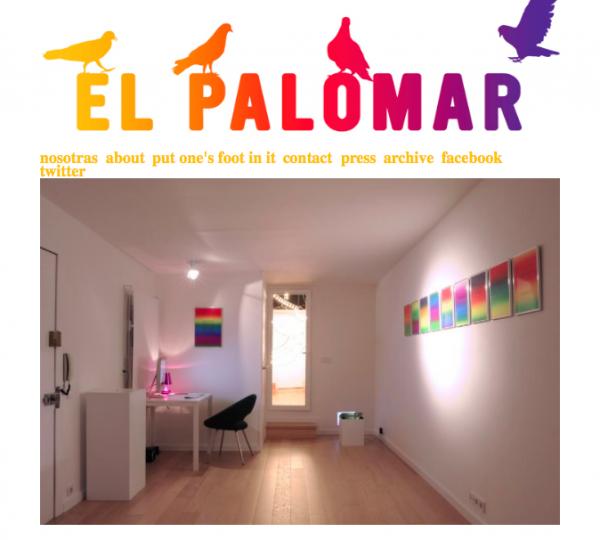 Pantallazo del web de El Palomar | Barcelona suma dos nuevos espacios a su pujante escena independiente