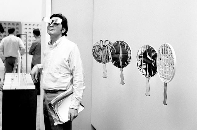 Julio Le Parc en la Bienal de Venecia,1966. Cortesía Atelier Le Parc y CCK | #loquehayquever en Argentina: homenaje nacional a Julio Le Parc