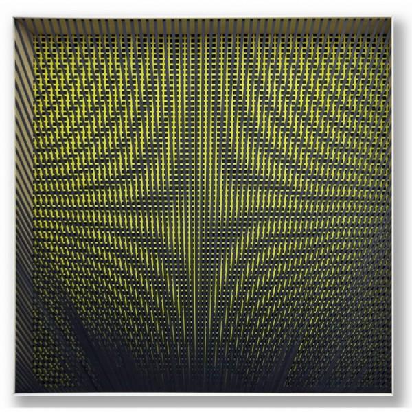 Geometric Transformation. Alberto Biasi, 1960.   Nuevas incorporaciones de artistas a galerías chilenas