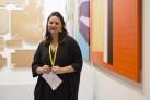 Agustina Ferreyra (San Juan) ganadora del Premio Opening ARCOmadrid 2016. Cortesía de ARCOmadrid