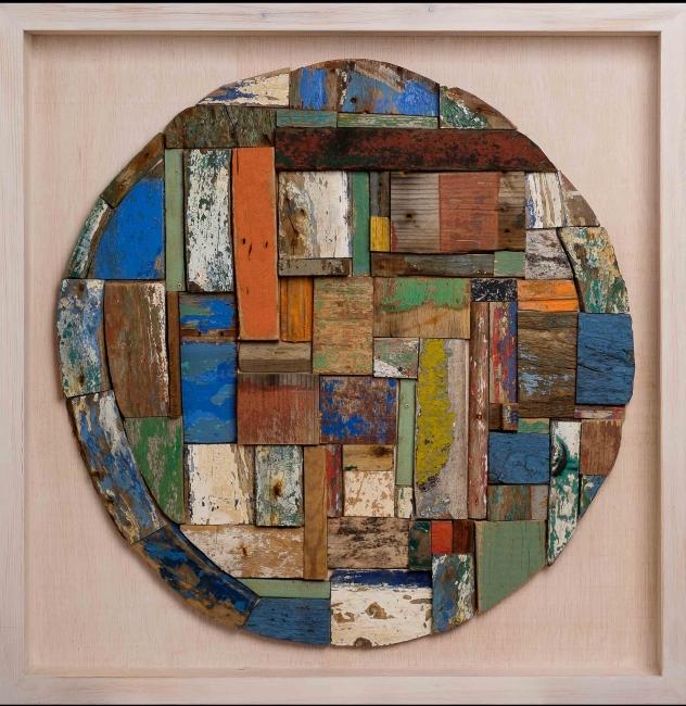Pep Carrió. 'Naufragio 2'. Serie Los Restos. Cortesía de la Galería Blanca Berlín | 15 artistas iberoamericanos cruzando diseño y arte contemporáneo