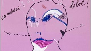 """Cartel de """"¡Por una sexualidad libre! Semana del orgullo LGTBIQ+"""". Cortesía del Museo Reina Sofía"""