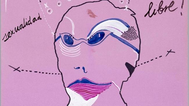 """Cartel de """"¡Por una sexualidad libre! Semana del orgullo LGTBIQ+"""". Cortesía del Museo Reina Sofía   6 artistas y 3 comisarios españoles fundamentales en el """"activismo queer"""""""