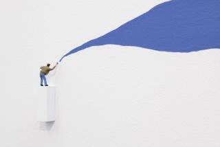 Liliana Porter, The Painter, 2019 (Detalle). Cortesía de la galería mor · charpentier (París)