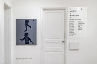 """Imagen de la exposición """"El Mundo Al Instante Nº1"""". Cortesía de Isabel Croxatto Galería"""
